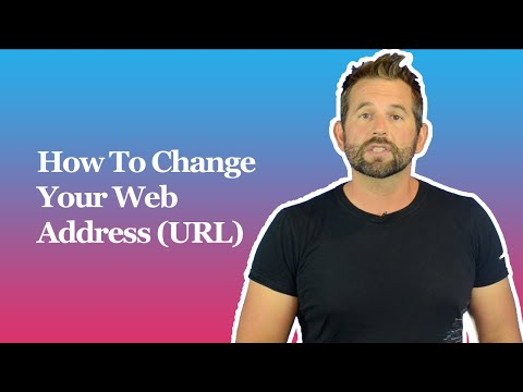 How To Change Your Web Address (URL)