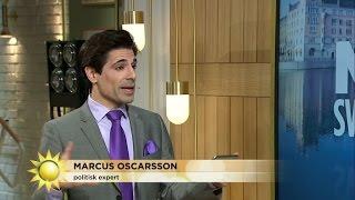 """""""Som ett skämt, vilket land ska ta emot flyktingar från Sverige?"""" - Nyhetsmorgon (TV4)"""