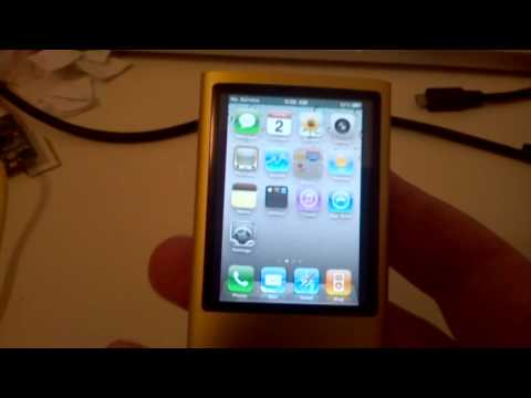 iOS on iPod Nano!