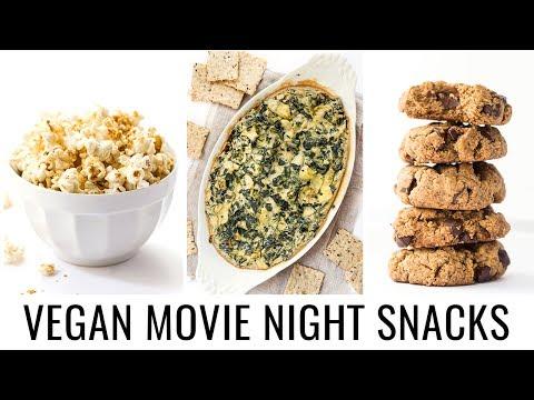 HEALTHY VEGAN SNACKS | perfect for movie night