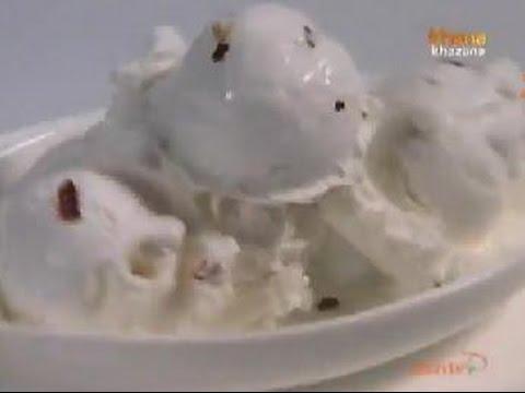 Chilli Ice Cream - Sanjeev Kapoor - Khana Khazana