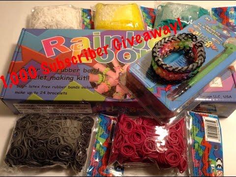 Epic Bracelets Rainbow Loom Giveaway Winner!!!