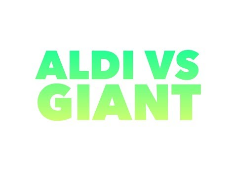 Aldi vs Giant Food - which supermarket is better