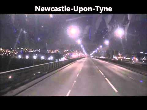 National Express Coach Journey - London Victoria To Newcastle-Upon-Tyne (Route 435)