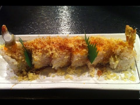 How to make a crunchy roll without seaweed