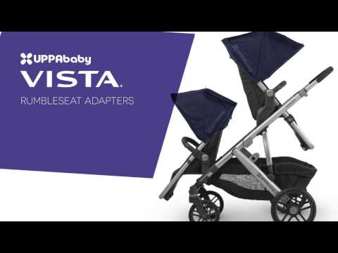 UPPAbaby VISTA Stroller - Attaching the RumbleSeat Adapters