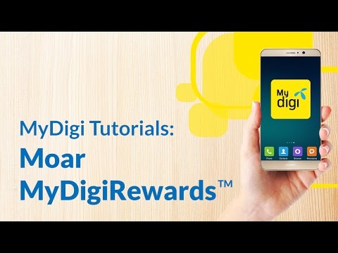 Claim your MyDigiRewards™ via the new MyDigi app.