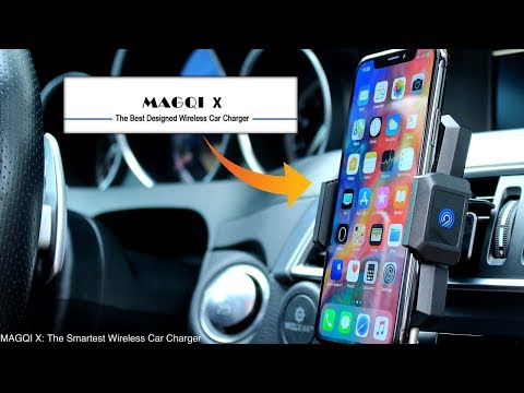 MAGQI X Wireless Car Charger Mount | The Most Advance Wireless Car Charger
