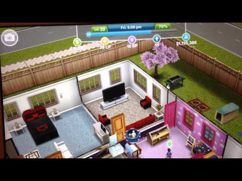 Sims Freeplay Money Cheat - REALLY SIMPLE!
