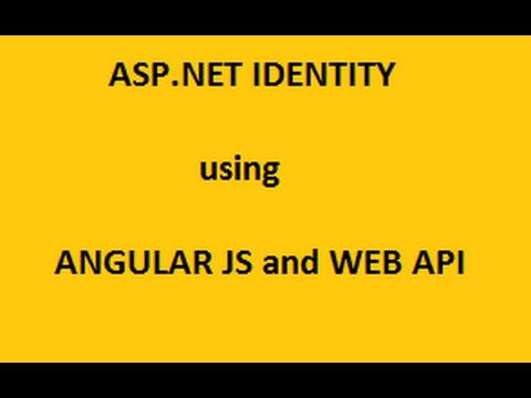 Login Using AngularJS and WebApi - Tutorial2