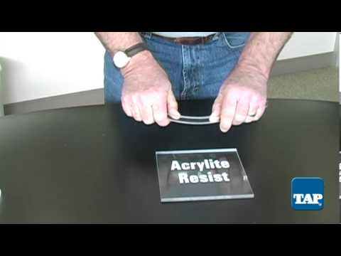Acrylite Resist Sheets