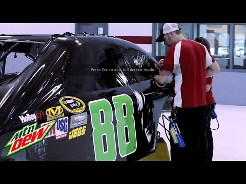 Dale Earnhardt Jr. - The Dark Knight Rises (National Guard Chevy) | Mountain Dew Commercial