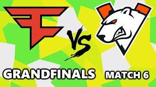 FAZE CLAN vs VIRTUS PRO - ESL PUBG MASTERS - GRANDFINALS - Match 6