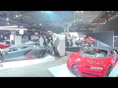 NEW YORK AUTO SHOW IN 360