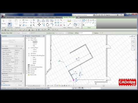 REVIT Ceiling in a Regular Floor Plan - CADclips