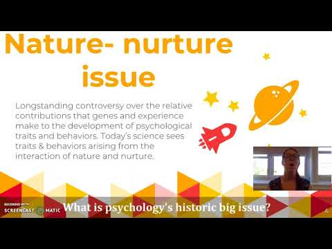 Unit 1: Nature vs. Nurture