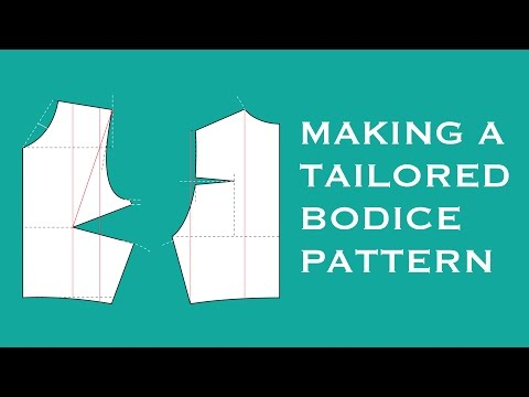 How to DIY a Tailored Bodice Pattern