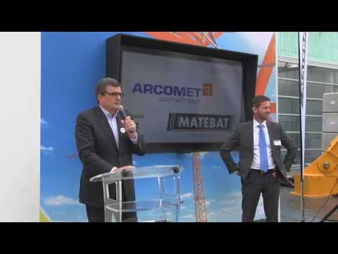 Intermat 2018: Arcomet Matebat Press Conference