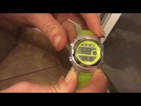 How to change a timex watch from military time to standard time