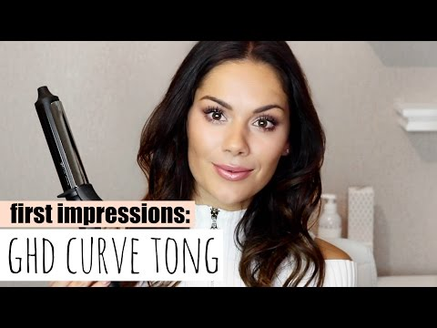 LOOSE WAVES WITH THE NEW GHD CURVE SOFT CURL TONG | Beauty's Big Sister