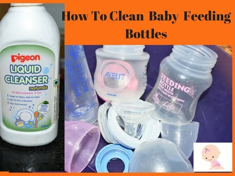 How To Clean And Sterilize Baby Feeding bottles(Step by Step tutorial) // Blossoms Of Happiness
