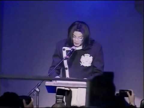 Michael Jackson speech at Silver Jacket's Charity Auction 20th November, Berlin 2002