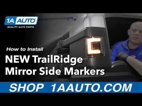How to Install New Trail Ridge Side Mirror Marker Lights