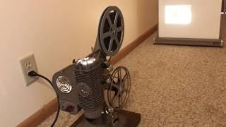 Keystone Commander Deluxe Model K-108 8mm Movie Film Projector