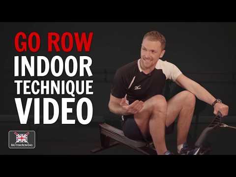 Go Row Indoor technique video