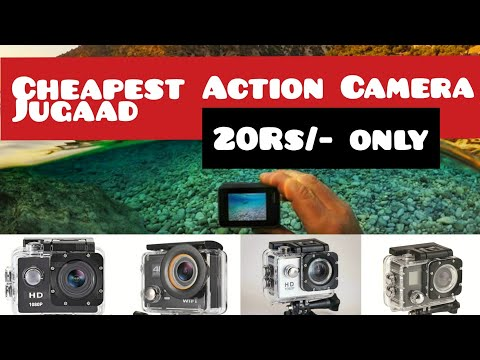 Action Camera In 20Rs. | Cheapest Jugaad For using smartphone as Action Camera | Gopro, Sjcam, Eken.