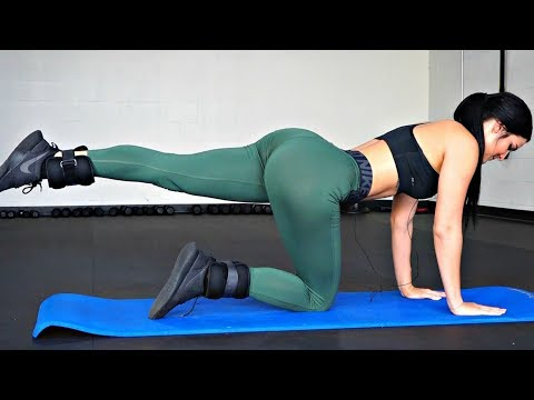 12 Minute Butt Lift Workout: Home Butt Exercises
