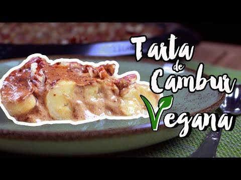 COMO HACER TARTA DE CAMBUR SIN HARINA, SIN MANTEQUILLLA Y SIN AZÚCAR | Rawmance Food