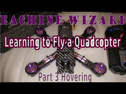 Learning to Fly a Quadcopter | Level 1 | Part 3 Hover Practice | Line-of-sight