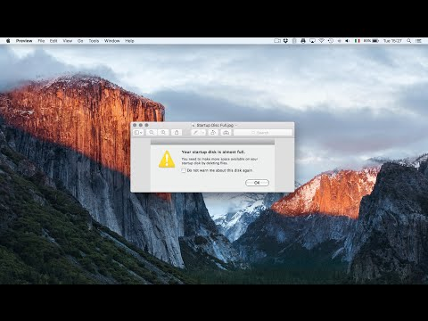 Startup disk full? How to clean up and speed up your Mac
