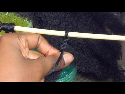 #76. DIY: MAKE YOUR OWN CROCHET TWIST HAIR , SAVE $ ...... Part 1