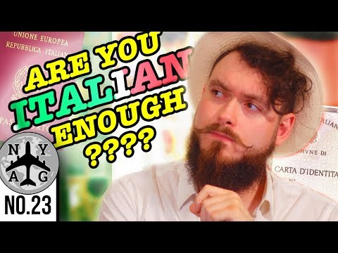 Jure Sanguinis Italian Citizenship - Italians (from Italy) Are Concerned