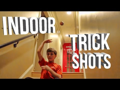 Lyks Basketball Trick Shots |Indoor Edition|