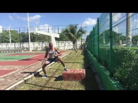 Outdoor Body Weight Platform Workout - CHD