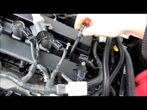 HOW TO CHANGE SPARK PLUGS FORD FUSION 2011
