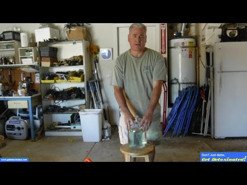 How to remove ethanol from gas for 2 stroke engines