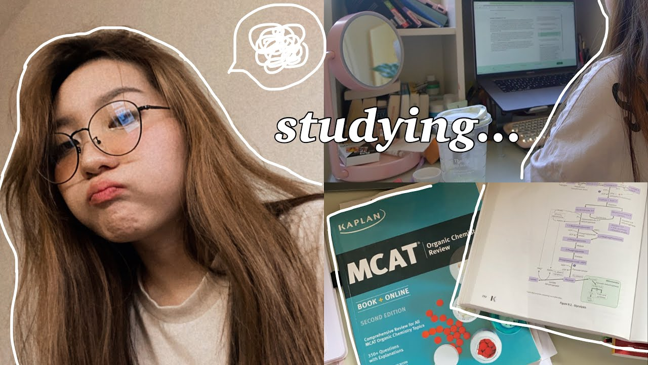 VLOG: what i've been up to, productive days studying for more exams (!!)