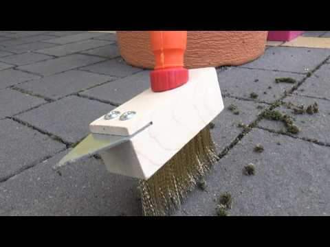 How to remove moss from paving - garden tips