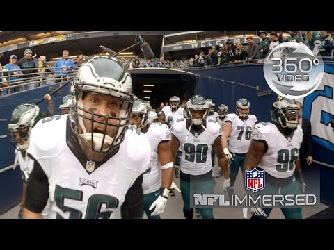 Eagles Defensive Line (360 Video) | Ep. 1 | NFL Immersed