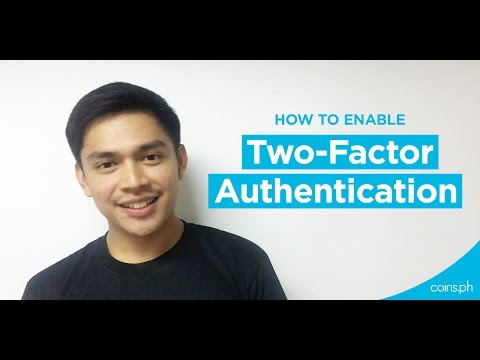 How to enable 2-step verification on your Coins.ph account