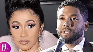 Cardi B Slams Jussie Smollett Over Staged Attack Claims In New Video | Hollywoodlife