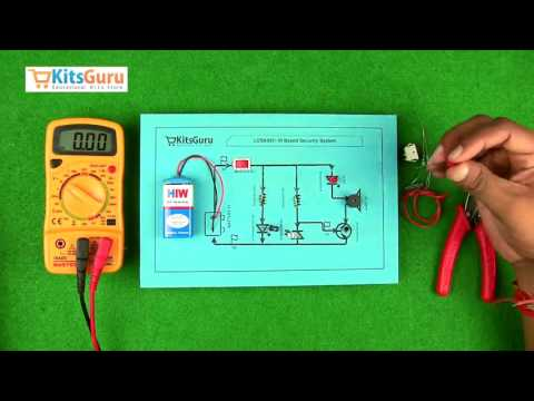 IR Based Security System by Kitsguru.com | LGSK027