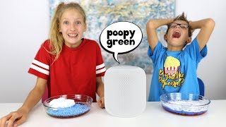 SIRI Picks Our Slime Ingredients Challenge!!!