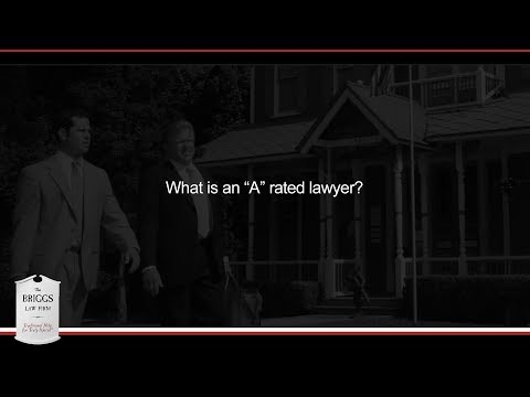 "What is an ""A"" rated lawyer?"