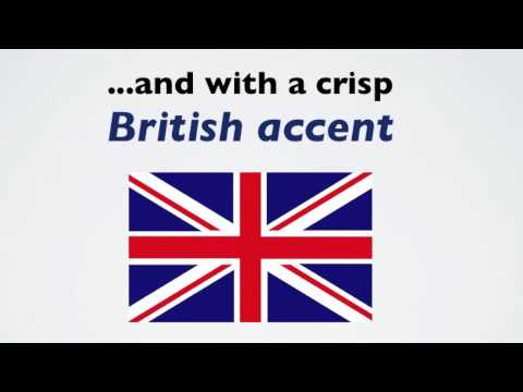 How to do a Genuine British Accent Fast - A Short British Accent Lesson with Authentic Examples