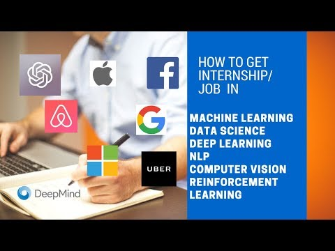 How to get internship/job in Machine Learning | AI